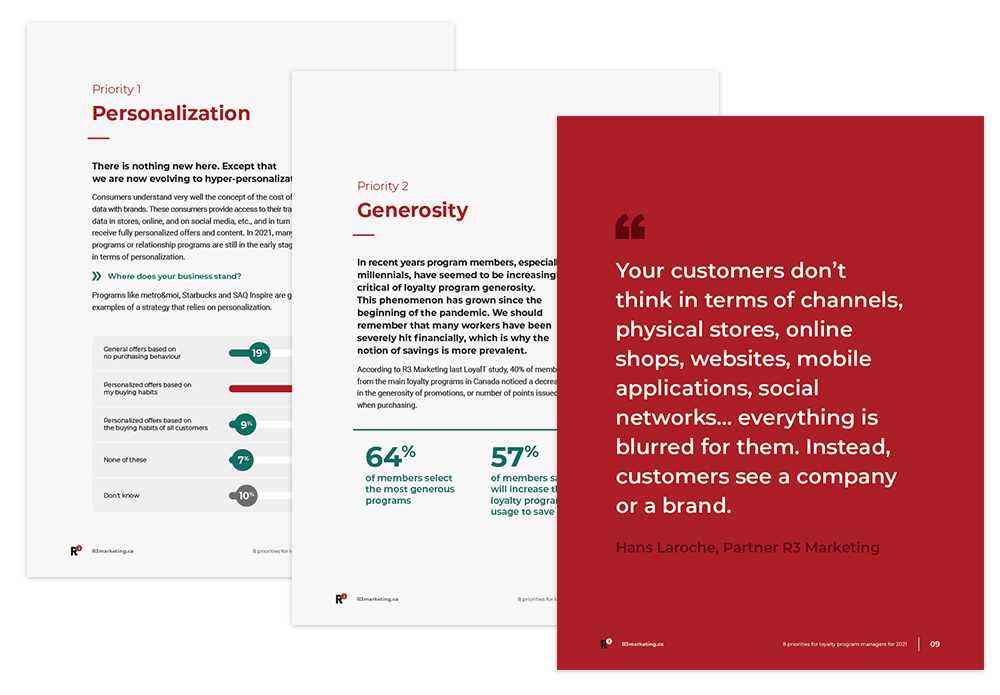 Preview of 8 priorities for loyalty program managers in 2021 Ebook